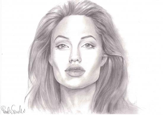 Angelina Jolie par pamelasea